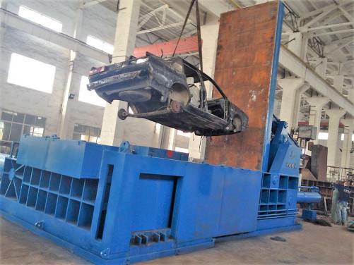 Baling Press YDT-400 Car Baler
