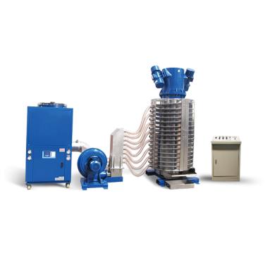 LSZ1050-L Vibration Refrigeration Cooling Conveyor