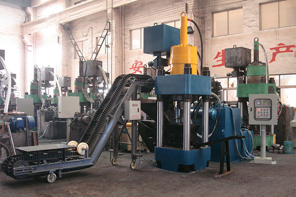Briquetting Press With Conveyor